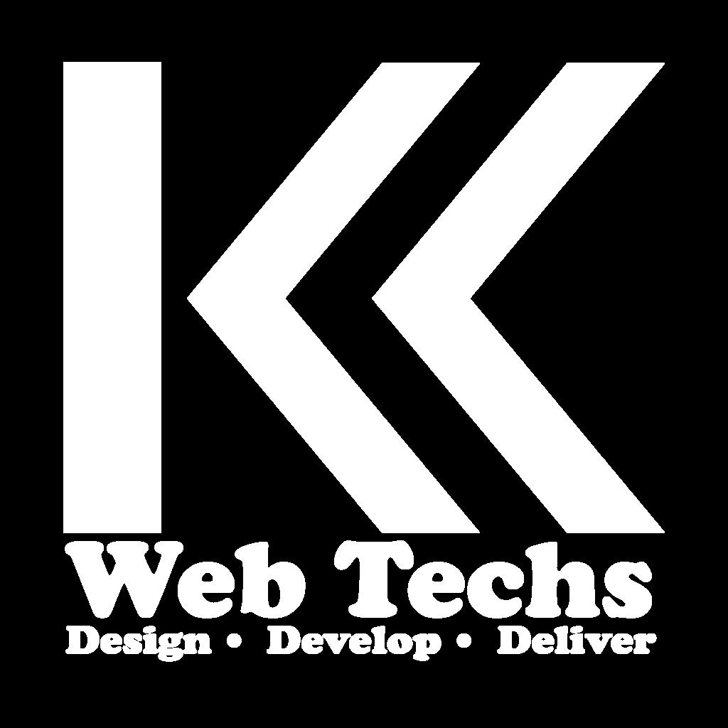 KK WebTechs White logo